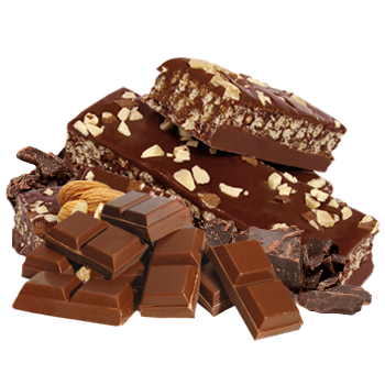 Almond and Milk Chocolate Flavoured Bar